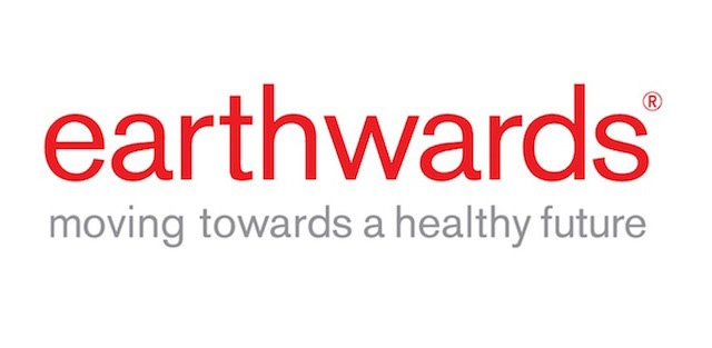 Logo Earthwards® in red