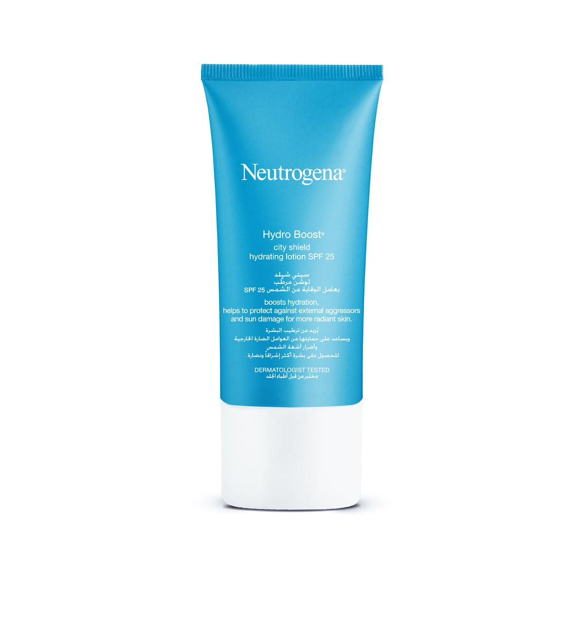 Neutrogena® Hydro Boost ® City Shield Hydrating Lotion SPF 25