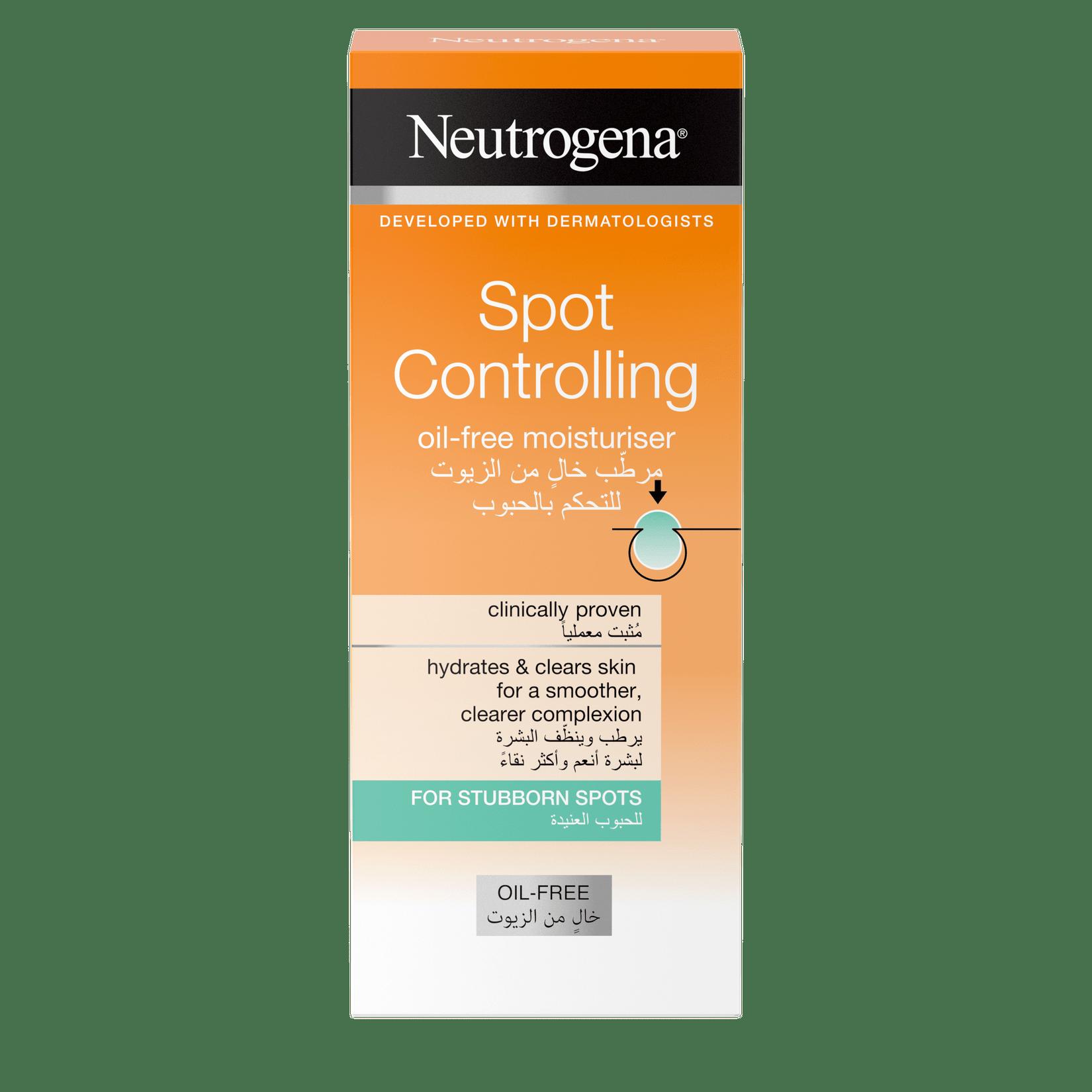 Neutrogena Visibly Clear® Clear & Protect Oil-Free Skin Moisturiser