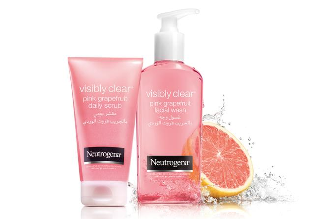 Help prevent breakouts with Neutrogena® Oil-Free Acne Wash Pink Grapefruit