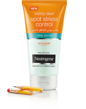 Neutrogena® Visibly Clear® Spot Stress Control Daily Scrub