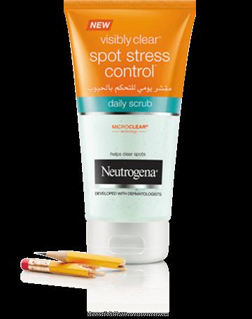 Neutrogena® Visibly Clear® Spot Stress Control Daily Scrub