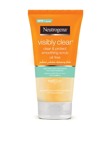 Neutrogena® Visibly Clear® Clear & Protect Daily Scrub