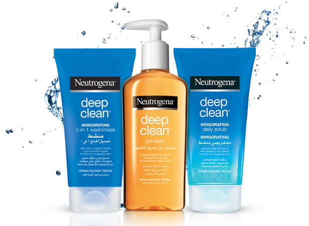 Neutrogena Face Care Products | Neutrogena® Skincare